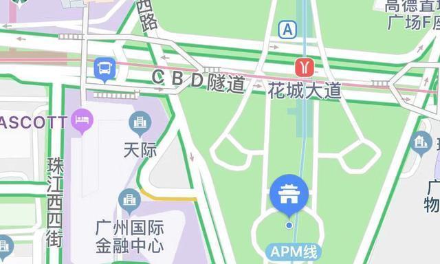 发现生活之美|广州夜景-花城广场