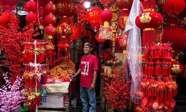 印度尼西亚:农历春节将至节日气氛浓厚