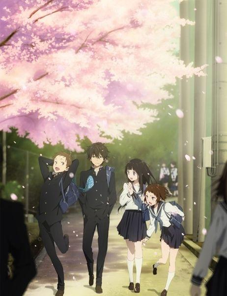 动漫壁纸:当樱花盛开的时候,你还记得樱花下落的速度吗?