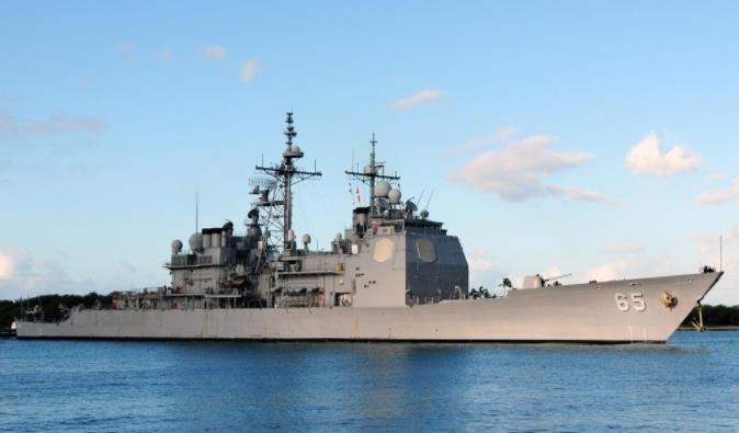 """美国海军的""""天之骄子""""一""""提康德罗加""""级导弹巡洋舰"""