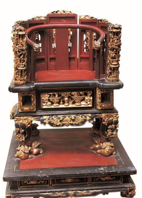 游博物馆,看清代至现代的金漆木雕!件件精致华美!