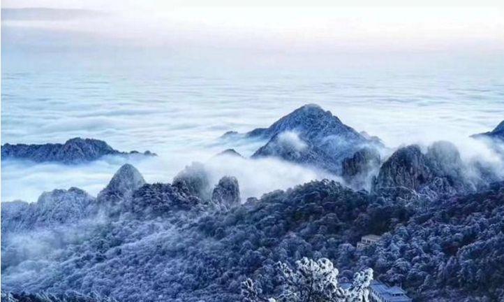旅游:雪景,雾凇,云海,这都是冬季黄山的馈赠!