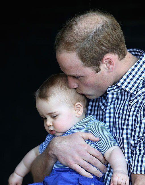 """为什么威廉被网友说是""""偏心""""乔治小王子?看看这些照片就知道了"""