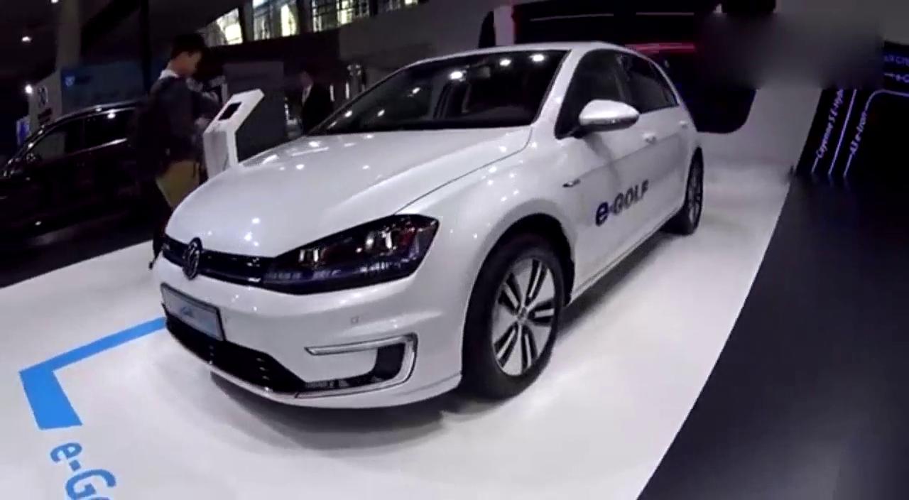 视频:高尔夫也出电动车,新款大众发布,最大续航300公里!