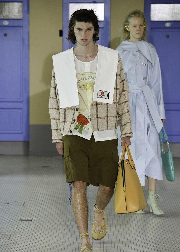 走秀现场:Lanvin巴黎时装周新品大秀
