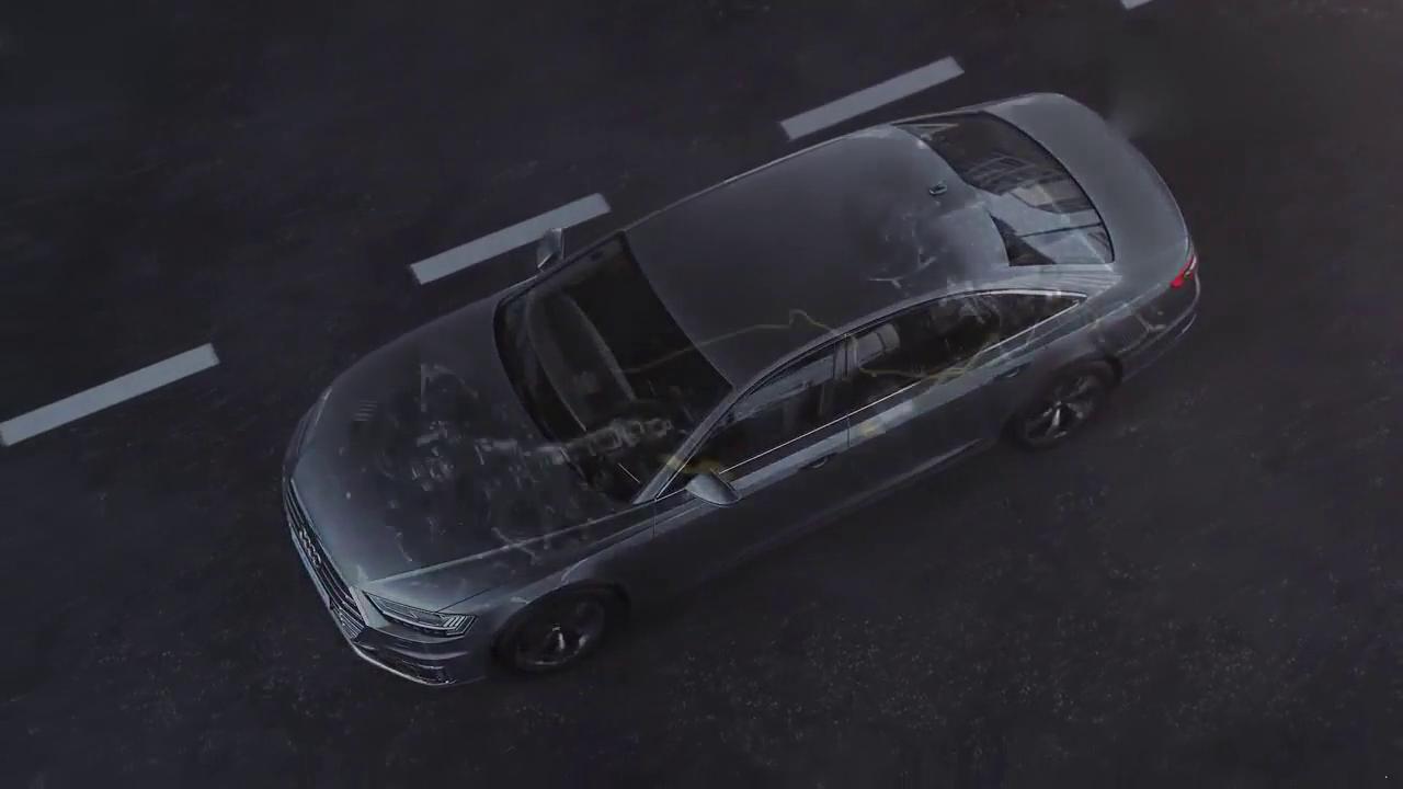 奥迪A8L e-tron纯电动高性能跑车 居然没有全景天窗!