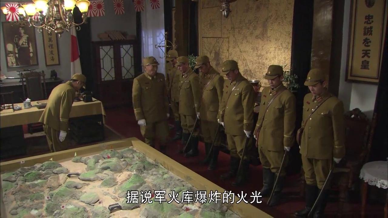 鬼子军官任务失败,司令官令人掌刮六十八个耳光,看着都爽