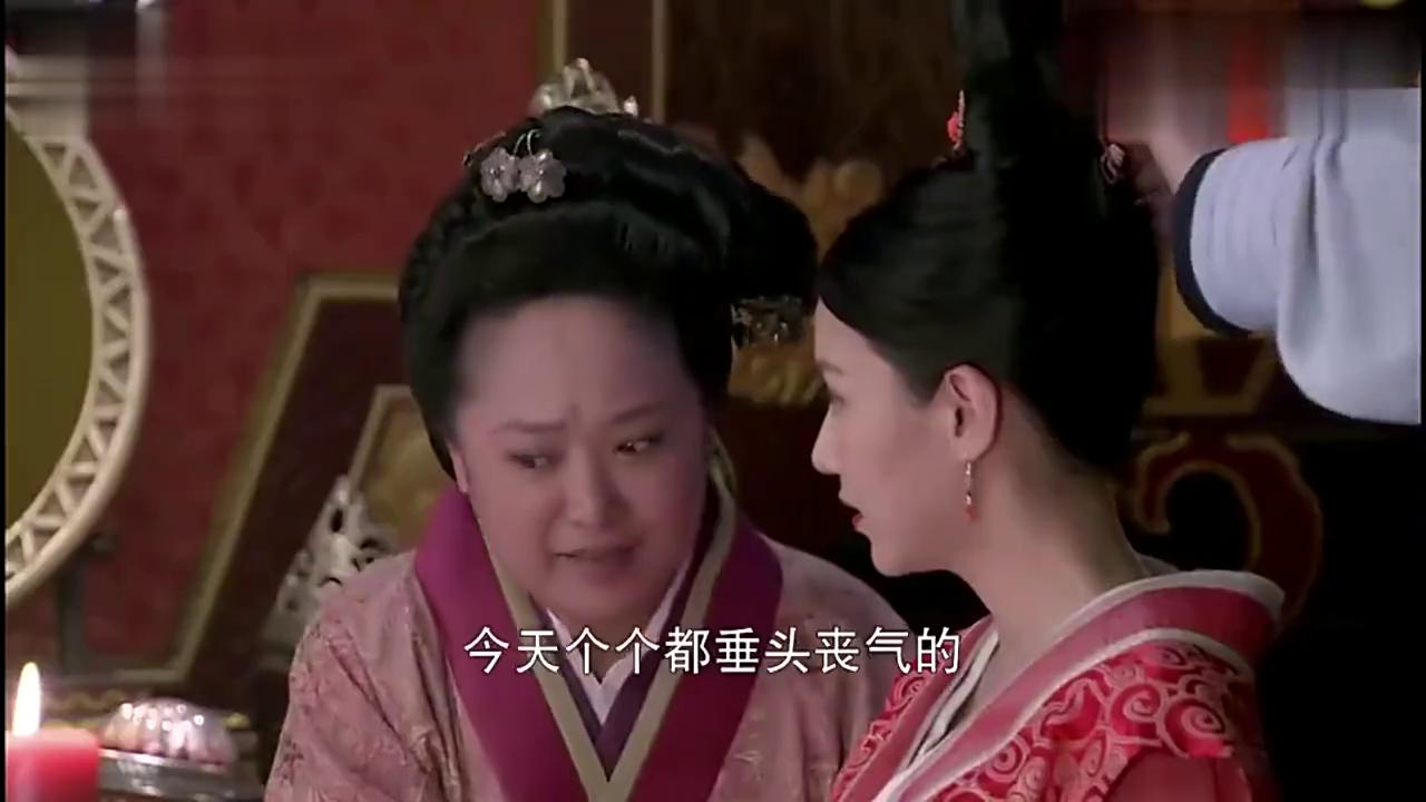 平淡素雅的卫子夫竟然被皇上看上了,喜娘得知很恼火!