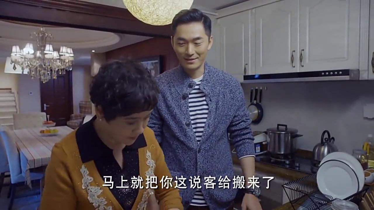 朱泳腾替弟弟在母亲面前说胡丹丹好话,真是中国好哥哥呀