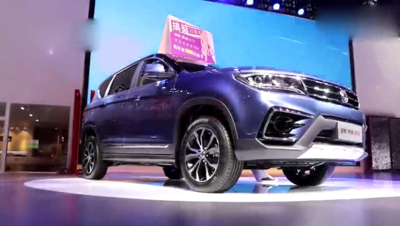 视频:景逸X5终于带T了!华丽的不再是SUV的车头,面包车的车尾。