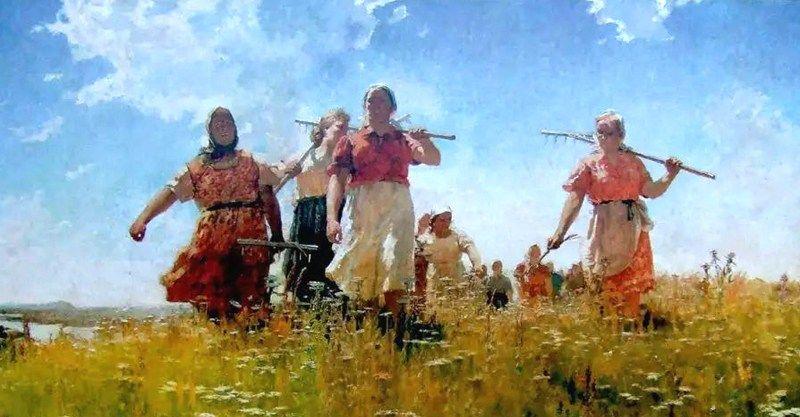 他是一座高峰,画坛常青树,梅尔尼科夫10幅女性人物油画欣赏