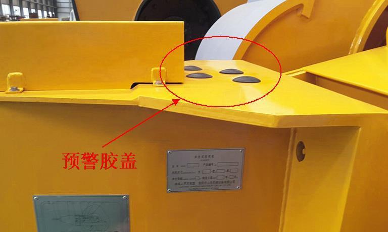 冲击压路机的维修与保养,厂家谈冲击碾压轮预警胶盖的作用及使用