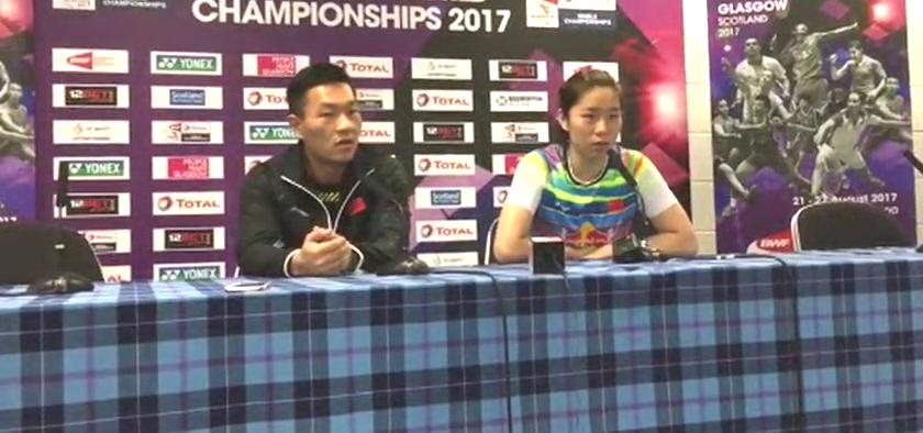 世锦赛女双夺冠,贾一凡赛后采访:世界冠军只是头衔,以后更努力