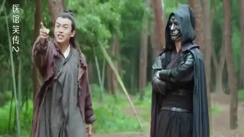 医馆笑传:夺心狂魔挟持李佳航,姜妍现身相救,女侠真心帅气