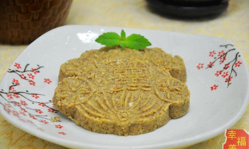 美食:甜入肺腑的桂花奶香绿豆糕