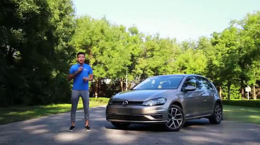 可以开到收藏的车2018试驾新款大众高尔夫VolkswagenGolf