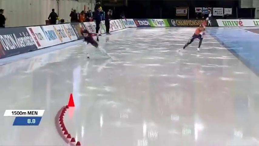 速度滑冰单项世锦赛:宁忠岩打破男子1500米全国纪录,创最好成绩