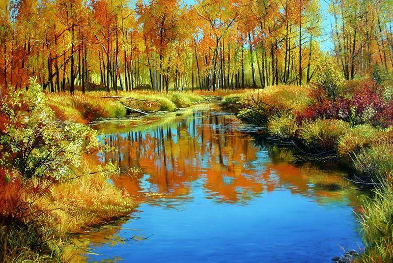 油画:加拿大艺术家Andrew Kiss风景画作品