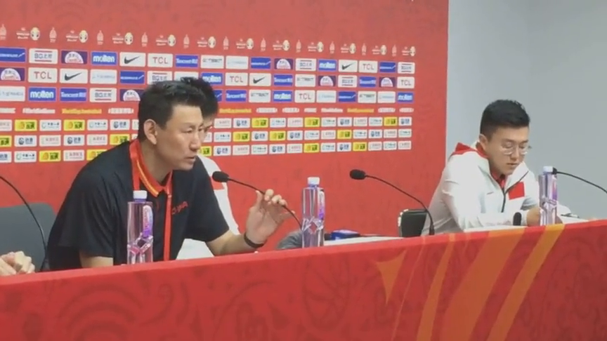 中国男篮输委内瑞拉!听听李楠教练赛后分析原因