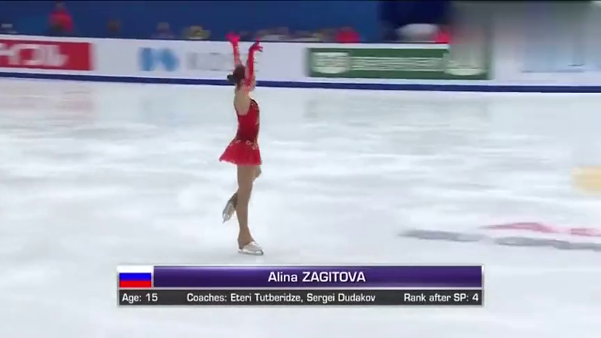 赛事回顾-花样滑冰比赛,看女选手风姿绰约,优雅的冰上表演!