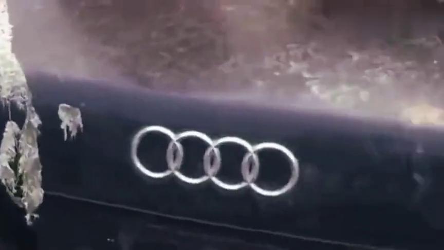 视频:这辆奥迪A8停了6年没人动,车主究竟去哪里了,可惜了这辆好车!