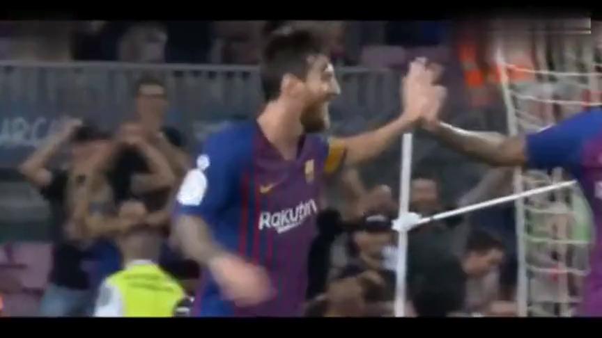 梅西世界级进球火了,胸部神停球劲射死角!