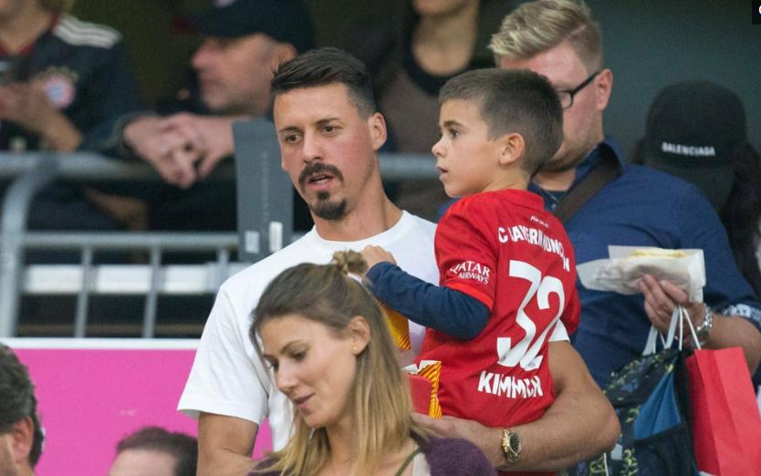 德甲第一轮拜仁慕尼黑2:2柏林赫塔,中超外援瓦格纳现场观赛