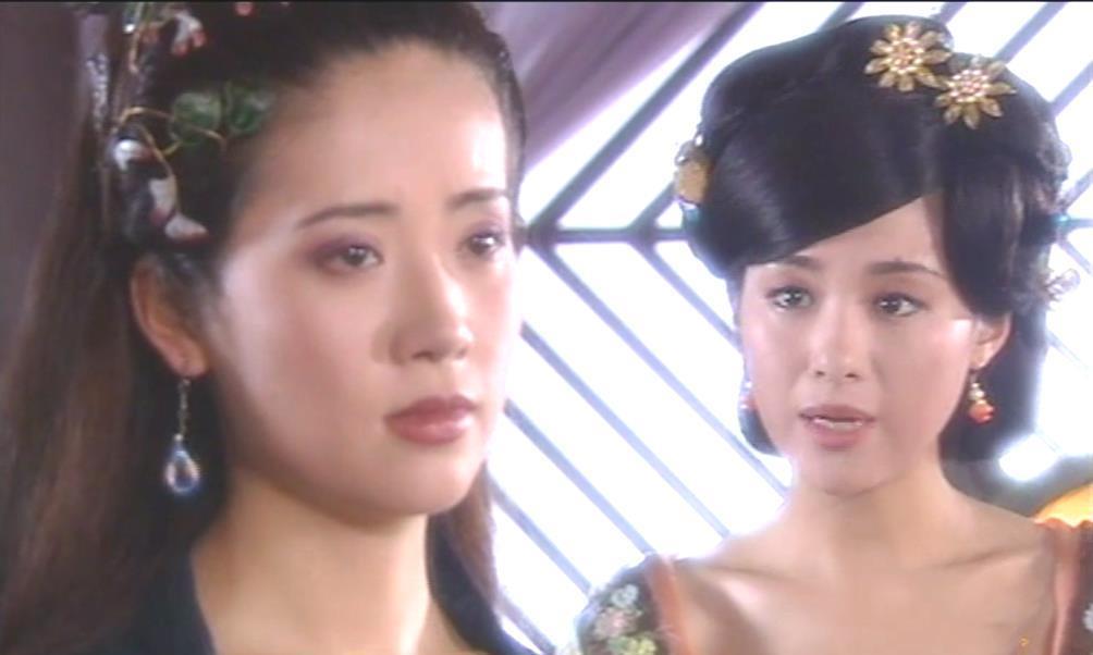 古装剧中看起来像姐妹的母女,玳姬身不由己,黛绮丝更爱自己