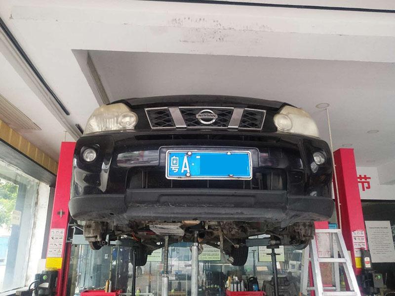 日产奇骏变速箱维修,提速缓慢故障修理,自动变速箱维修案例