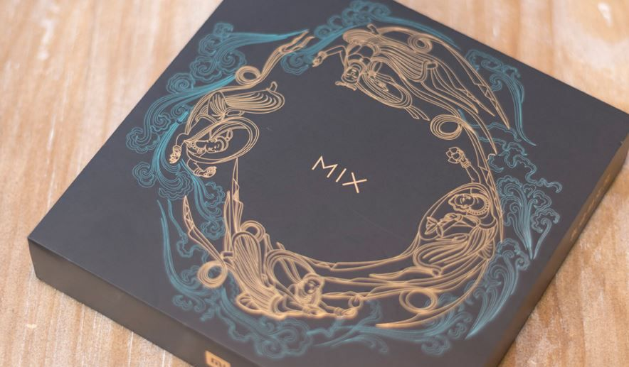 小米mix2s翡翠版,科技和传统艺术的结合,从未见过的美!