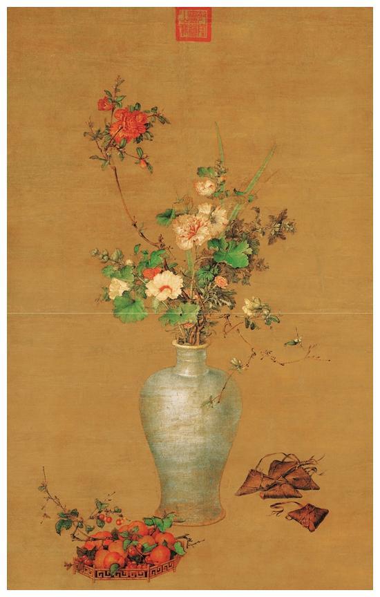 郎世宁的这幅《午瑞图》