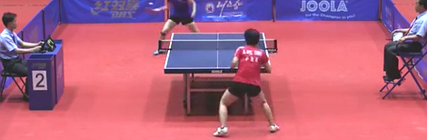 2016 平壤公开赛乒乓球比赛视频剪辑Ri Myong Sun vs Kim Hye
