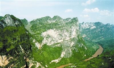 北盘江大峡谷,来自大自然的旷世杰作