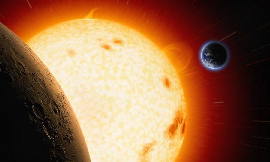"""如果太阳""""熄灭""""了,地球上的人类还能生存多久?"""
