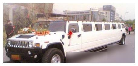 亚洲首辆11米悍马被我国明星拿下!拍新戏爆改车身,白蛇造型太酷