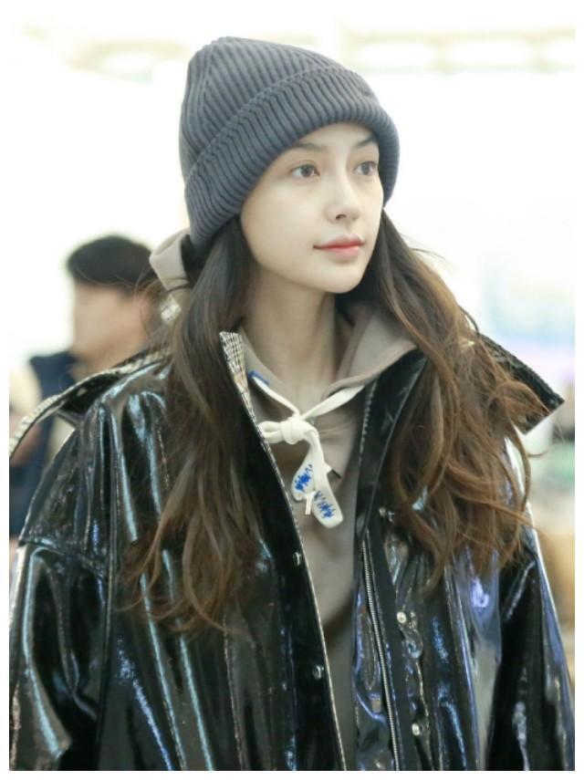 Angelababy杨颖素颜依旧美,?黄晓明的眼光果然一流!
