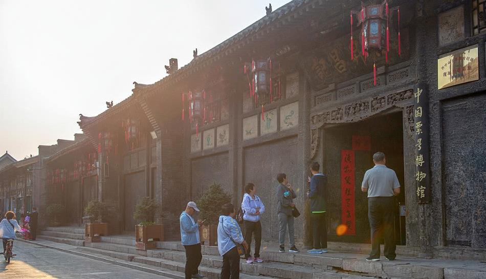 平遥有我国金融第一街,1823年创立辉煌百年,如今成票号博物馆