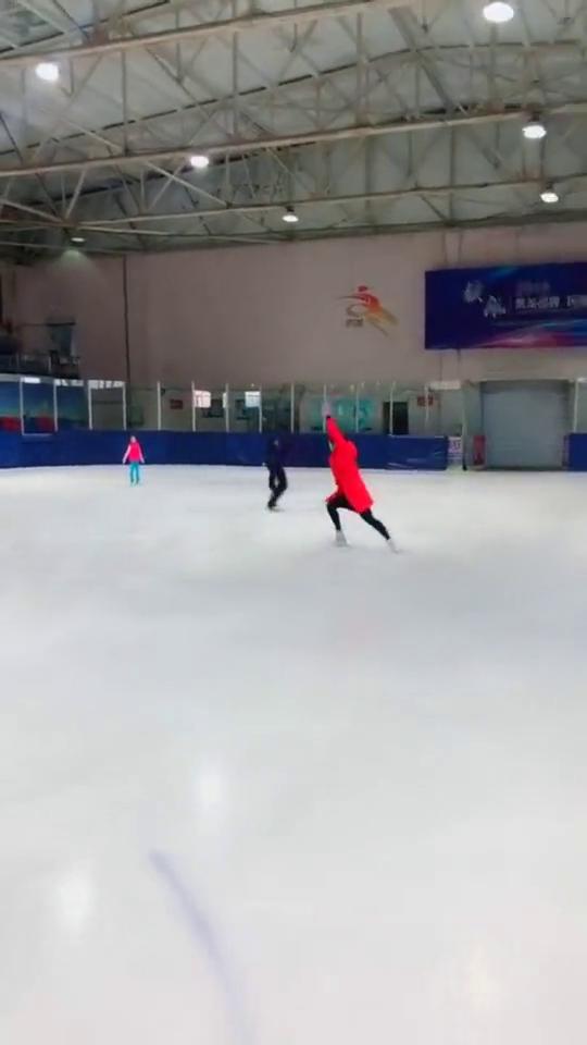 花样滑冰,我这技术怎么样,绝对能进国家队!
