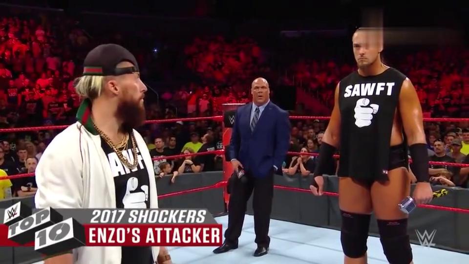 WWE:2017年十大精彩集锦,捍卫者热血引爆全场!