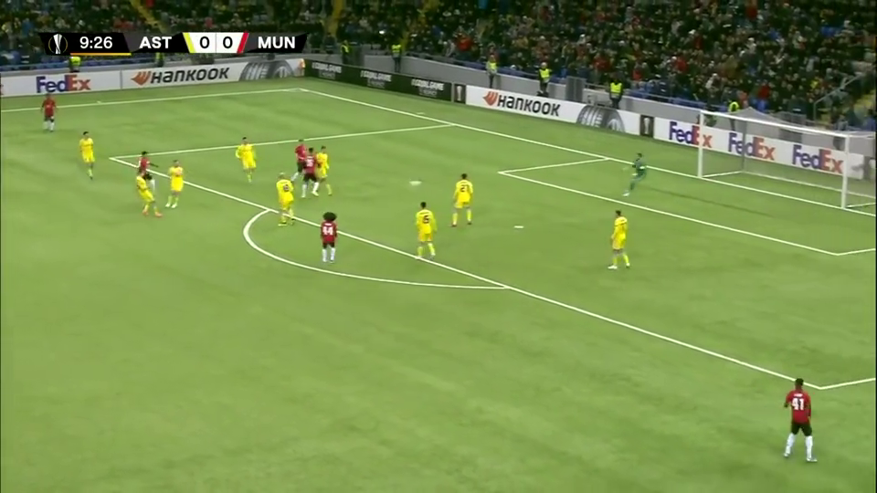 奶奶都能进钟塔西空门不进伯纳德乌龙球曼联1-2被阿斯塔纳逆转