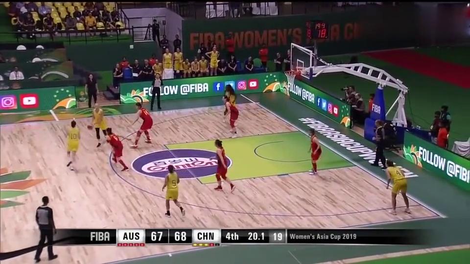 中国女篮生死一分钟,邵婷5.7秒准绝杀,全场观众都沸腾了!