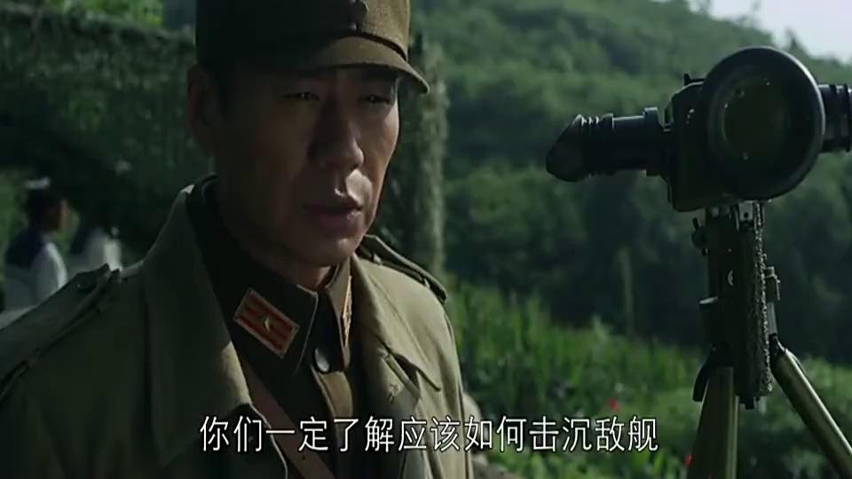 中国海军沿江布雷七百余枚,炸毁日军主力战舰,敌人损失惨重