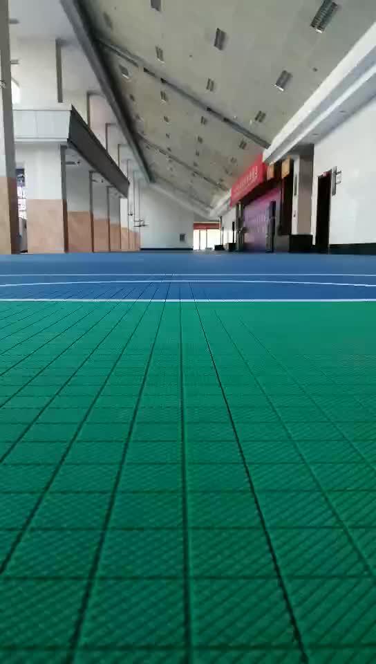 重庆尚步体育:悬浮地板弹性测试