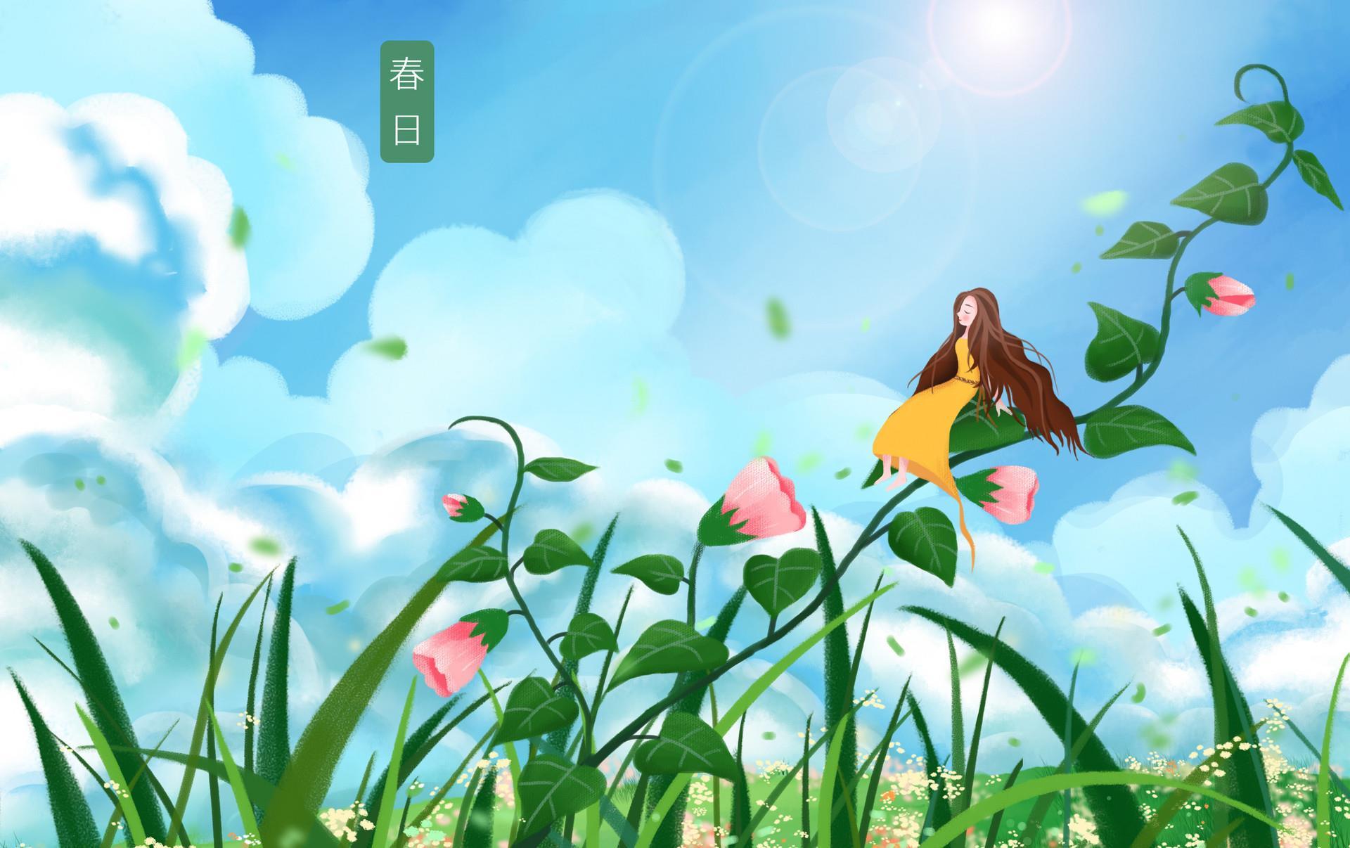 疫战无所寄,七首唯美春日诗词,与你共赴春光烂漫!