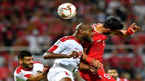巴勒斯坦亚洲杯战平叙利亚 后卫萨利赫成为首个染红球员