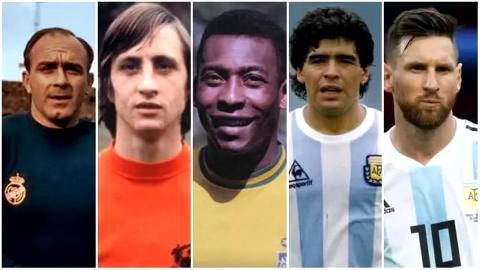名宿称梅西已跻身足坛历史前五 当前梦想就是为阿根廷拿冠军