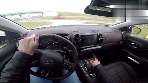 2019款雪铁龙天逸C5试驾体验,坐进驾驶室那刻,才知道视野多
