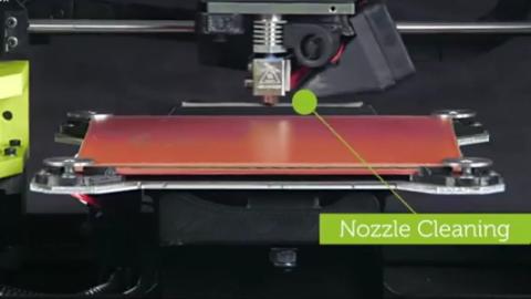 由3D打印机制造出来的绿乌贼