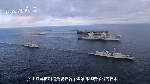 技术突破!中国002型航母下海实验成功,可以搭载36架舰载机!