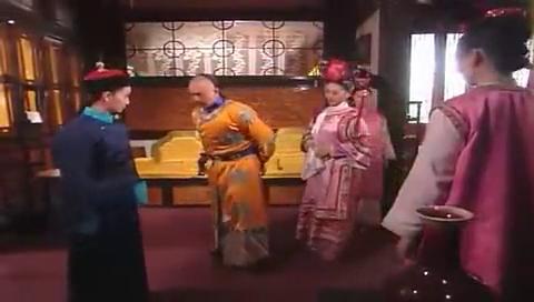 小燕子说自己不是格格,皇阿玛忍耐她的小脾气,给她讲道理!